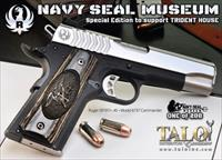 Ruger SR1911 Navy Seal Museum 1 of 200 6737  #102