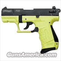 Walther P22Q Lime Green