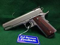 Ed Brown Special Forces 3 w/ Target Sights 38 Super Stainless