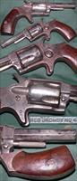 "Lee Arms Co ""Red Jacket No 4"" 32rf spur trigger revolver"