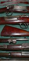 antique M1896 US Springfield Krag rifle