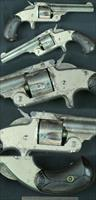 Smith & Wesson Model 1-1/2 32CF spur trigger SA revolver