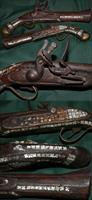 Mediterranean Decorative flintlock blunderbuss pistol