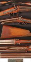 J.J.WESTON BELGIUM under lever double barrel cartridge shotgun