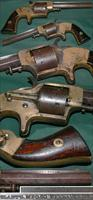 "Plant's Manufacturing Co., .42 caliber cup-primed front loading ""Army"" revolver"