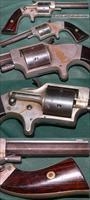 Plant's Patent Eagle Arms Co front loading pocket revolver