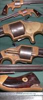 "Plants Patent front loading ""Army"" revolver"
