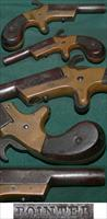 "scarce ""POINTER"" marked .22 derringer"