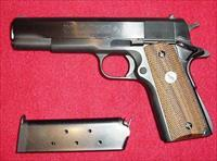 Colt 1911 .45 Cal, '70 Series with Colt .22 Cal '70 Series Target Conversion Kit. Mfg. 1970