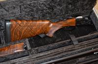Krieghoff K-80 Blued 4- Barrel Skeet Set in Exhibition Grade Claro Walnut