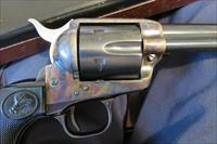 "Colt SAA .45 X 5 1/2"" Blue with  Case Colored Frame Peacemaker ("