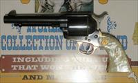 "Colt SAA  .45 X 5.5"" SECOND GENERATION NIB, Unturned, Uncocked w/ Wood Display Case"