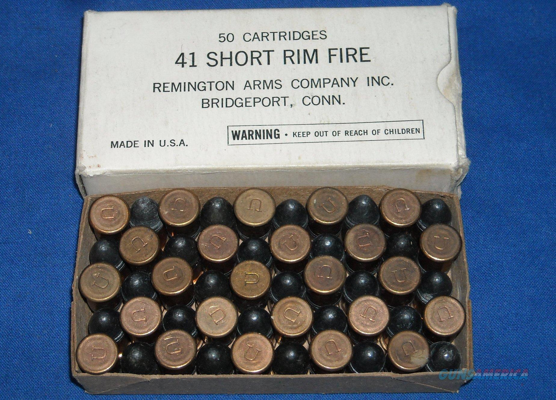 remington 41 short rimfire colt derringer ammo for sale