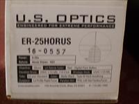 U.S. OPTICS, ER-25 HORUS, 5-25X58MM, 34MM TUBE
