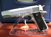 COLT STAINLESS STEEL O1991 SERIES MODEL #O1091 REDUCED PRICE