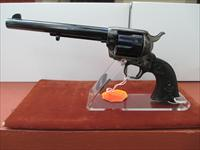 "COLT BLUE AND CASE 45LC SAA ON BLACK POWDER FRAME WITH 7 1/2"" BARREL"