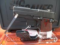 SIG SAUER P238-380-RG WITH ROSEWOOD GRIPS & LASER REDUCED PRICE