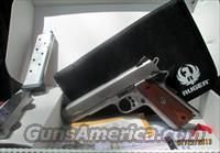 RUGER SR1911 45ACP IN S/S MODEL #06700