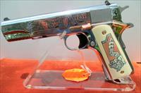COLT/TALO ROSE GOLD MEXICAN HERITAGE 38 SUPER