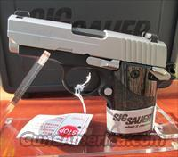SIG SAUER P938-9-BG WITH BLACKWOOD GRIPS REDUCED PRICE