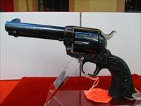 "COLT SAA 4 3/4"" BLUE AND CASE COLORED 357 MAGNUM"