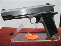 COLT 38 SUPER STAINLESS STEEL 1991 MODEL #O2091