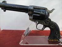 "COLT SAA ON A BLACK POWDER FRAME 4 3/4"" BARREL"