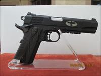 "COLT 1911 BLACKENED S/S ""GUNSITE"" RAIL GUN"