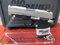 SIG SAUER P938-9-AG IN 9MM WITH ALUMINUM GRIPS REDUCED PRICE