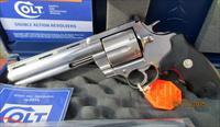 "COLT  ANACONDA 6"" DRILLED & TAPPED 44 MAGNUM"