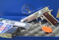 COLT BRIGHT STAINLESS STEEL 38 SUPER ELCEN PAIR IN SEQUENCE