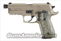Sig Sauer P229 SCORPION, Elite, Flat Dark Earth Finish, Beavertail, SRT, SLITE, Hogue Extreme G10 Grips--- with threaded barrel (13.5x1mm LH)