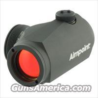 Aimpoint Micro H1 - 2 MOA  200018 Like New Demo