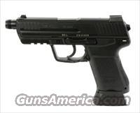 HK45CT US V7 DAO LEM No Manual Safety or Decock 45 ACP black with 2x 10 round magazines
