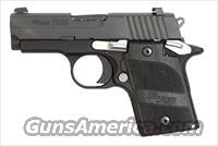 Sig Sauer P938 NIGHTMARE, Black Nitron Finish, SLITE Night Sights, Hogue Black G10 Grips, Ambi Safety, 7rd Magazine FREE SHIPPING