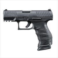 "Walther PPQ M2 Navy SD 9mm 4.6""  Black 1-17rd 1-15rd with 2x mags MPN 2796082 ""FREE SHIPPING"""