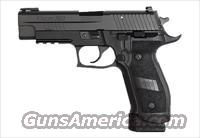 Sig Sauer P226 TACOPS, Black Nitron Finish, Beavertail, SRT, TFO / SIGLITE Night Sight Combo, Magwell Grips FREE SHIPPING