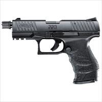 "Walther PPQ Tactical .22lr 4"" Black 12 round with Adapater  MPN 5100301"