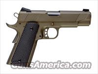 Christensen Arms 1911 Commander Standard 45ACP Titanium Frame-Stainless Slide G10 grips-Burnt Bronze Frame Black at Eurooptic