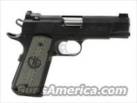 "Falcon Commander 1911 .45 ACP 4.25"" Barrel, One Piece Checkered Mainspring Housing & Magwell"