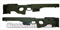 AICS Accuracy International Chassis System .338 Lapua CIP 1.5 Fixed Green MPN CIP/OD