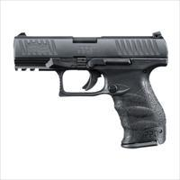 "Walther PPQ M2 9mm 4""  Black with 2x 15 round mags MPN 2796066 FREE SHIPPING"