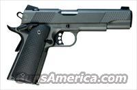 Christensen Arms Government Lite 5in-Classic 45ACP Titanium Frame-Stainless Slide -Tungston Frame Finish at Eurooptic
