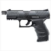 "Walther PPQ Tactical .22lr 4"" Black 10 round with Adapater  MPN 5100304"