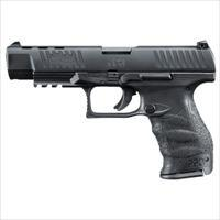 "Walther PPQ M2 9mm 5""  Black with 2x 15 round mags MPN 2796091 FREE SHIPPING"
