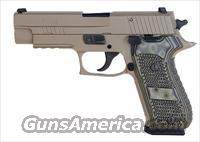 Sig Sauer P220 SCORPION, Elite, Flat Dark Earth Finish, Beavertail, SRT, SLITE, Hogue Extreme G10 Grips