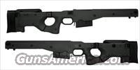 AICS Accuracy International Chassis System Long Action 2.0 Folding Stock Black 300 Win Mag Left Hand MPN 6362