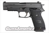 Sig Sauer P220 Black Nitron Finish, SLITE Night Sights, Single Action, Ambi ***Discontinued***