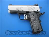 Springfield EMP Bitone .40 S&W *NEW* 1911 Compact G10 Grips PI9241LP Gear Pkg