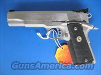 Colt Gold Cup Trophy Stainless 45 acp 1911 *NEW* 05070X